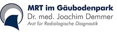 MRT im Gäubodenpark Dr. med. Joachim Demmer Arzt für Radiologische Diagnostik