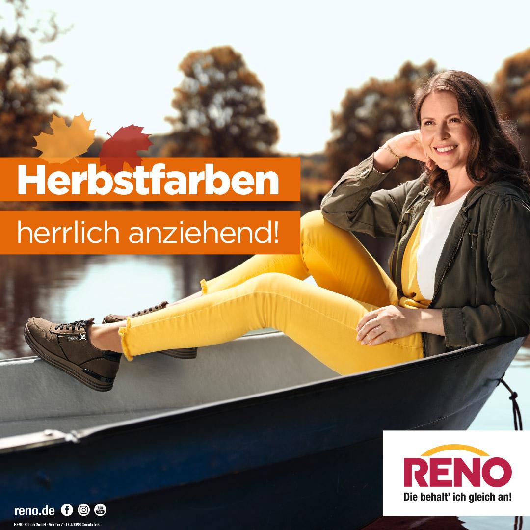 Die neue Herbstkollektion bei RENO