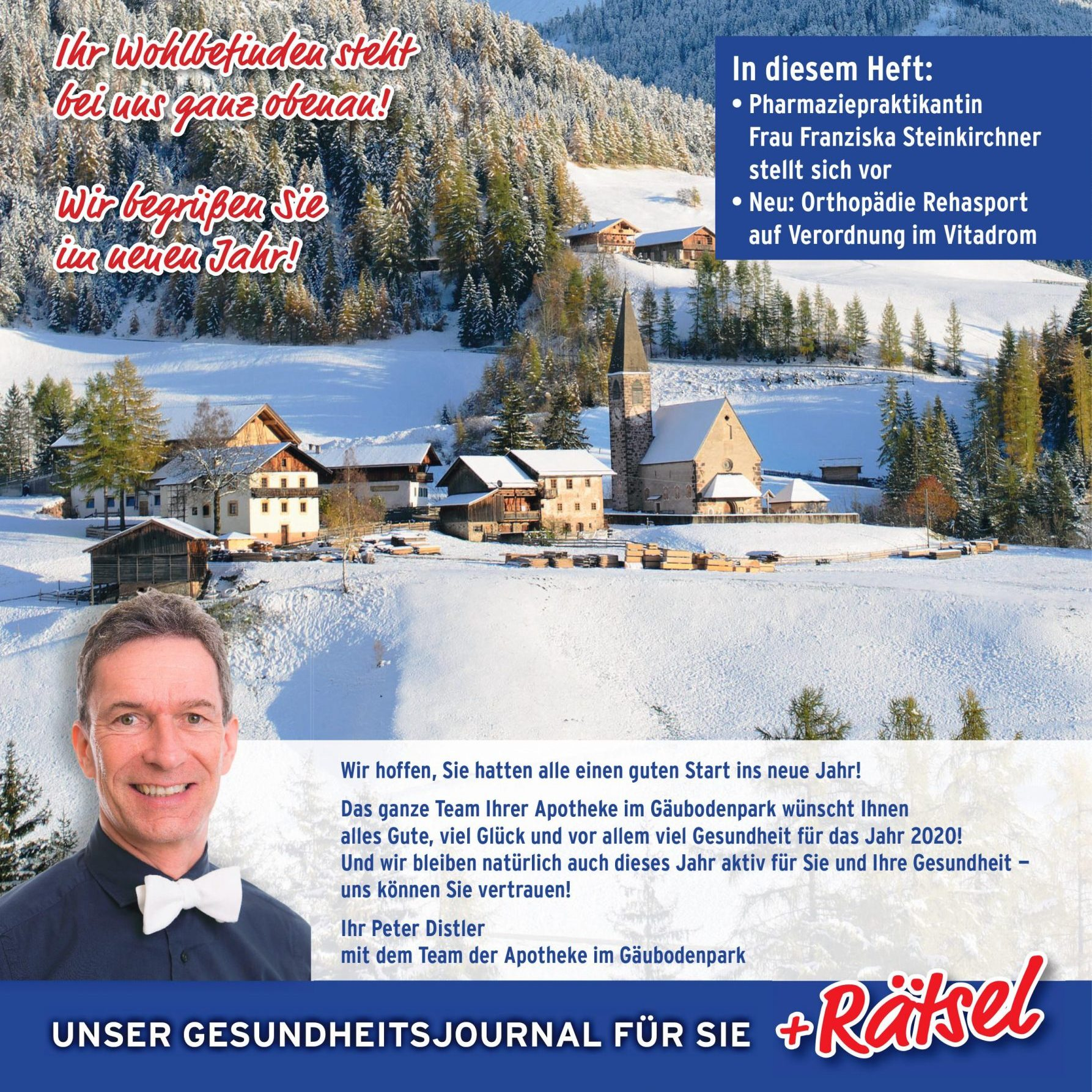Das neue Apotheken-Magazin im Januar ist da