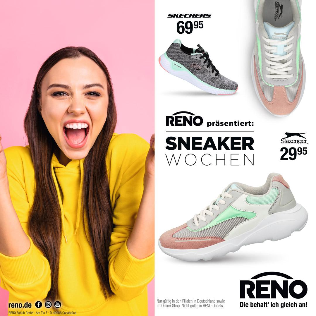 Sneaker Wochen bei RENO