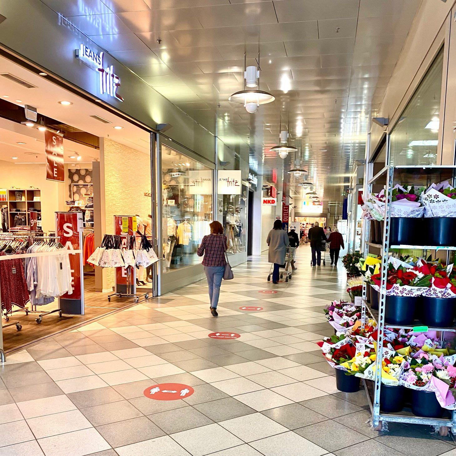 Ab Montag, 11.05.2020 haben wieder alle Geschäfte geöffnet!