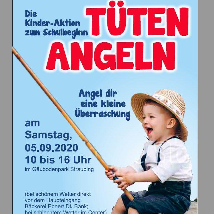 Unsere Kinder-Aktion zum Schulbeginn: Tüten angeln :)