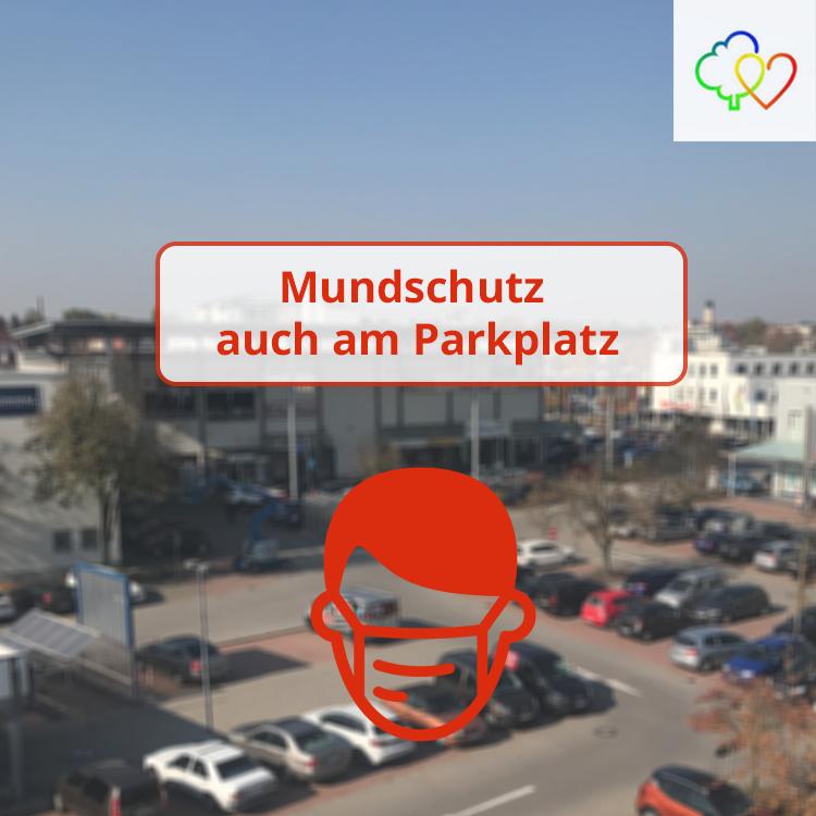 Mundschutz-Pflicht auch am Parkplatz des Gäubodenparks