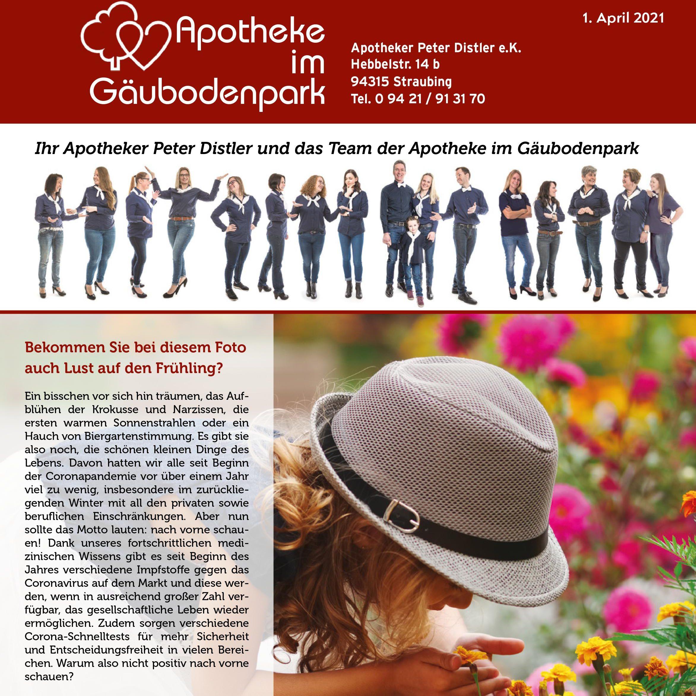 Das neue Apotheken-Magazin im April ist da